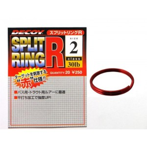 DECOY Split Ring RED R-2