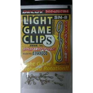 DECOY Lightgame Clip SN-8